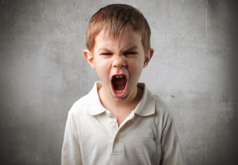 приступы гнева у детей