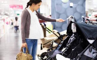 Покупка детской коляски