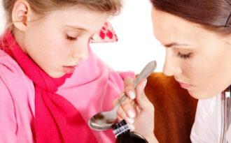 Кашель при простуде у ребенка