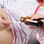 при простуде беременной