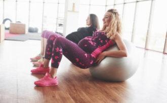 в тренажерном зале при беременности